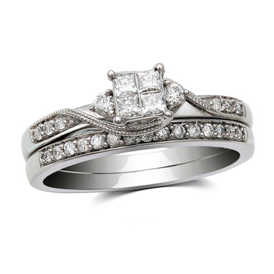engagement ring sets under 1000