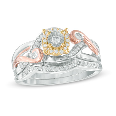 bridal ring sets under 500